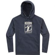 Icon Stamptup Hoodie Heather Blue